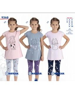 Піжама для дівчат Baykar 9368