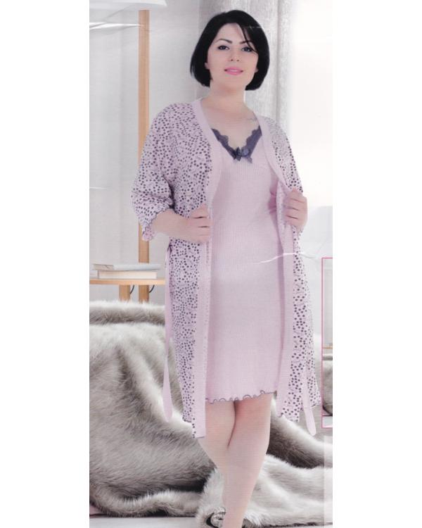 Комплект жіночий великих розмірів Miss Victoria 60001