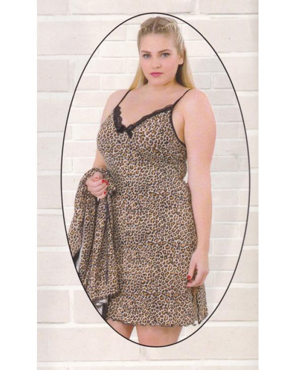 Комплект жіночий великих розмірів Miss Victoria 14473