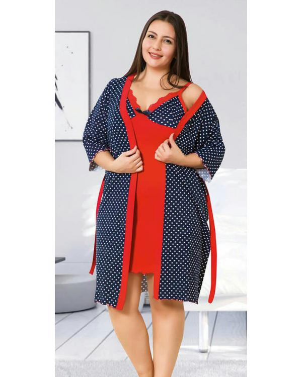 Комплект жіночий великих розмірів Miss Victoria 60007