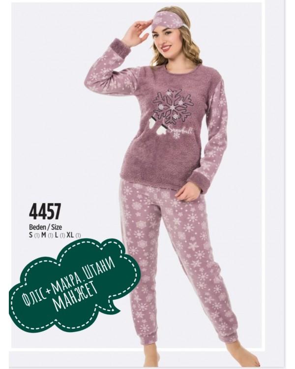 Флісова молодіжна піжама Fawn 4483