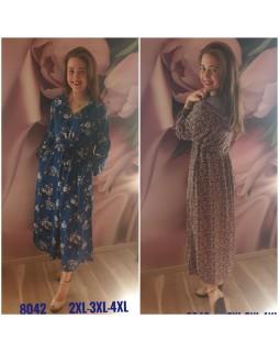 Молодіжне плаття штапель 8042