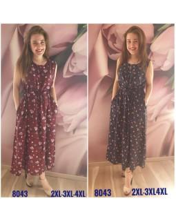 Молодіжне плаття штапель 8043