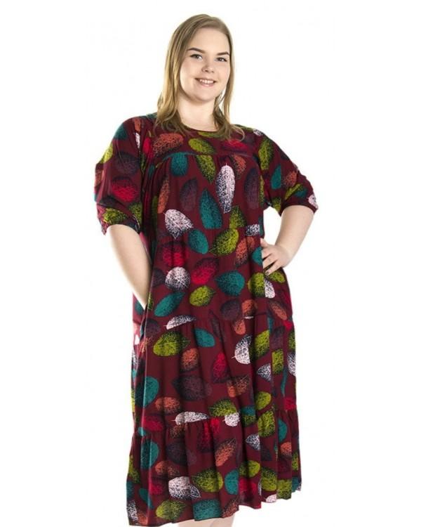 Літнє  плаття штапель 1234