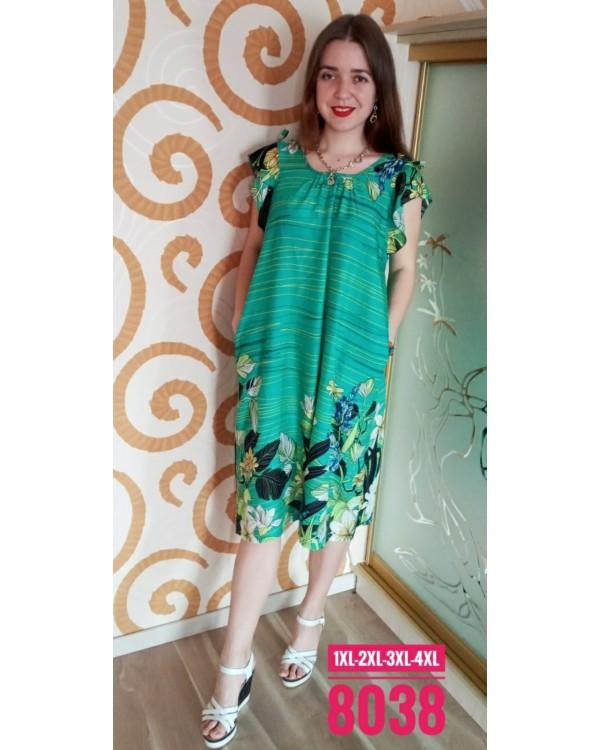 Молодіжне плаття штапель 8038