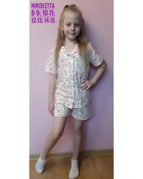Піжама дитяча Nicoletta 95105