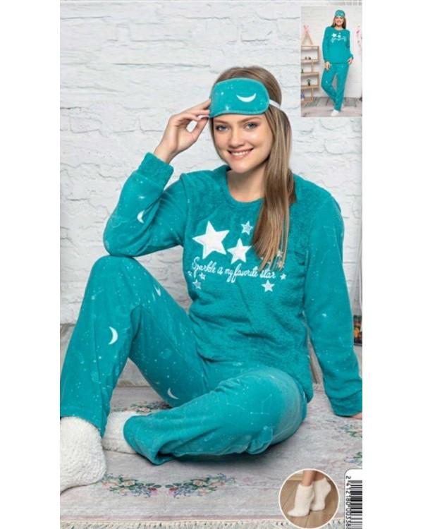 М'яка молодіжна піжама фліс і махра 'Sparkle is my favorite Star'