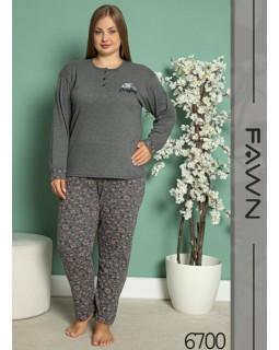Жіноча піжама FAWN 6700