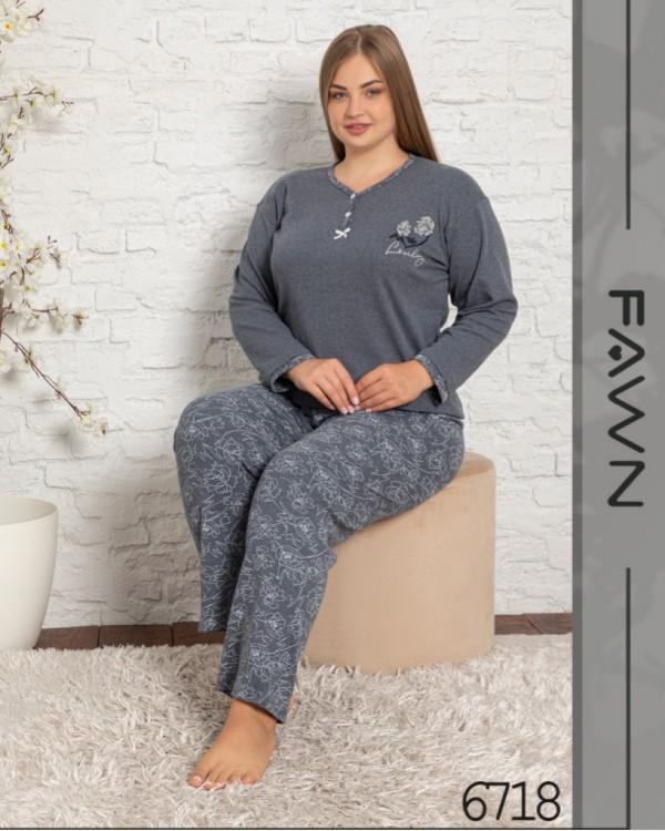 Жіноча піжама FAWN 6718