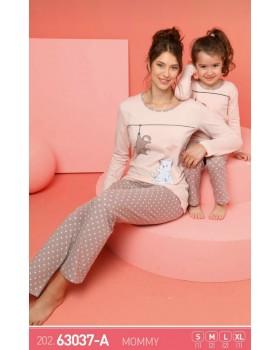 Жіноча піжама SEXEN 63037-A