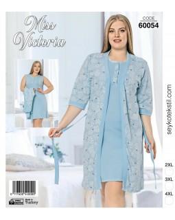 Комплект жіночий великих розмірів Miss Victoria 60054
