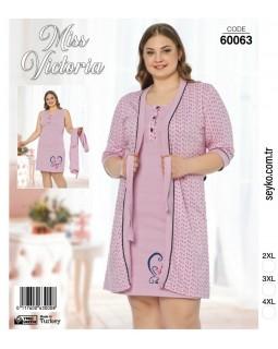 Комплект жіночий великих розмірів Miss Victoria 60063