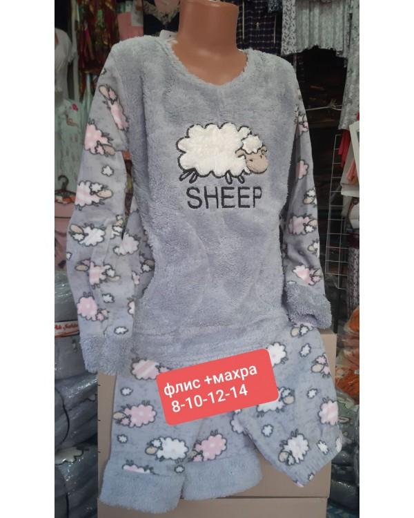 "Дитяча піжама фліс-махра ""Sheep"""