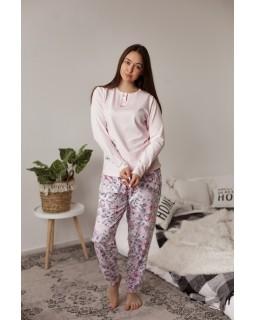 Батальна піжама зі штанами Nicoletta 20010