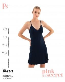Сорочка на бретелях Pink Secret 6423-3
