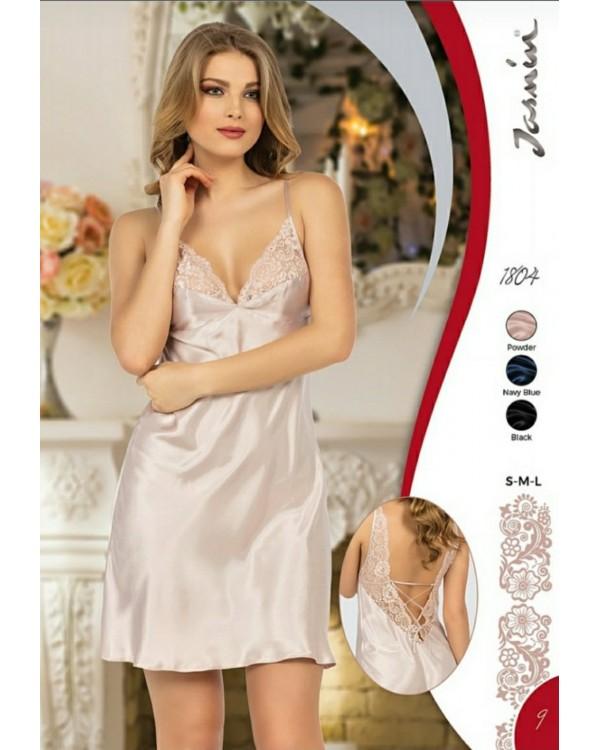 Молодіжна атласна сорочка Jasmin Lingerie