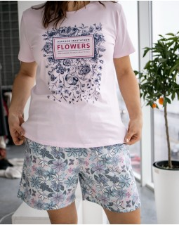 Молодіжна піжама Nicoletta Flowers