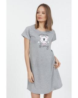 Молодіжна нічна сорочка Vienetta Panda Gray