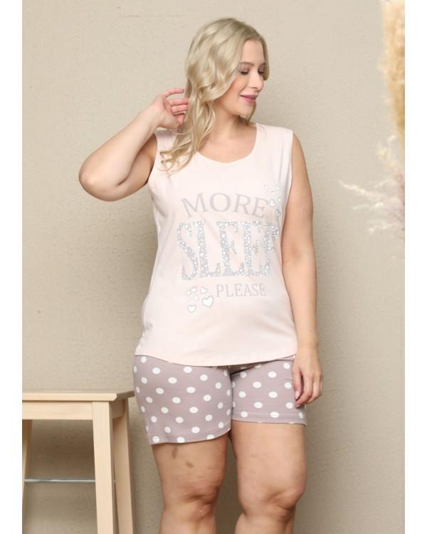 Піжама з шортами великого розміру Sexen 41535