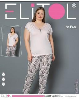 Піжама з брюками Elitol 5015-В великого розміру