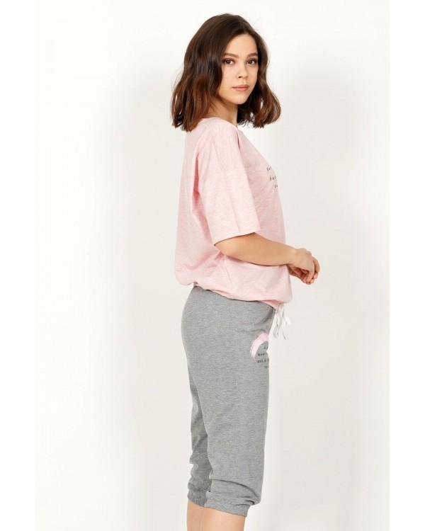 Молодіжна піжама з бріджами Vienetta