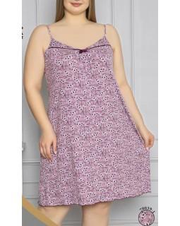 Віскозна сорочка з кружевом Nicoletta 70039