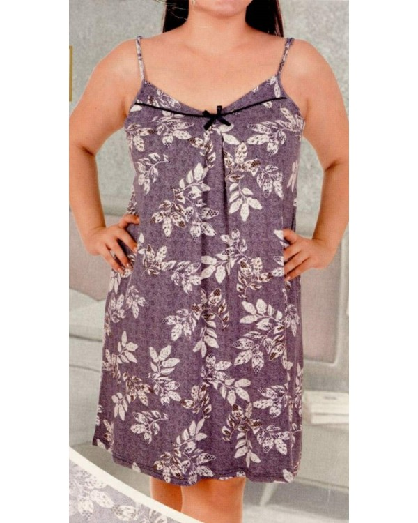 Віскозна сорочка з кружевом Nicoletta 81956