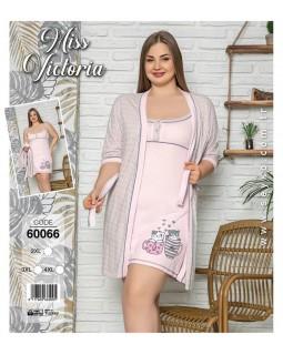 Комплект жіночий великих розмірів Miss Victoria 60066