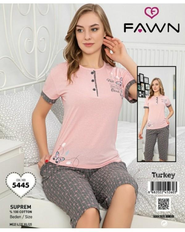 Піжама з капрями  Fawn 5445