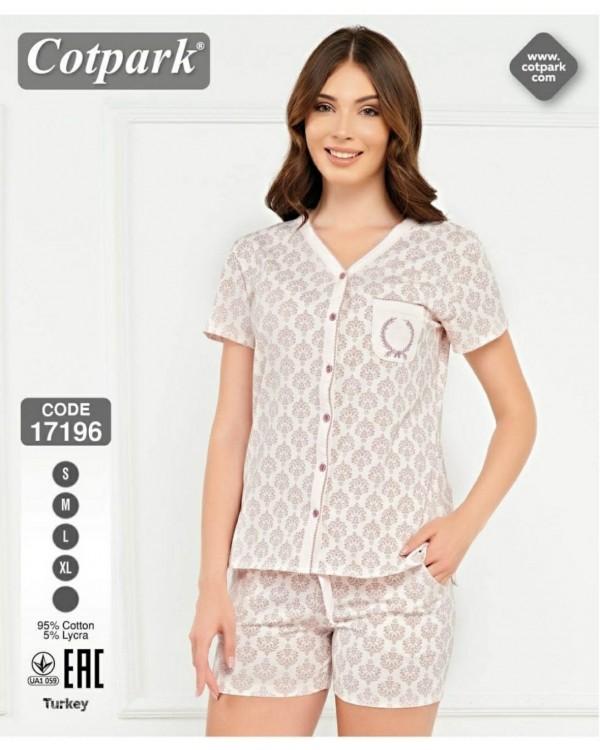 Жіноча піжама Cotpark 17196