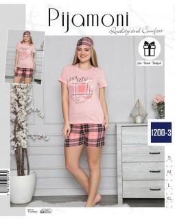 Жіноча піжама з шортами Pijamoni 1200-3