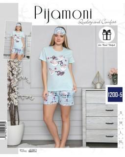 Жіноча піжама з шортами Pijamoni 1200-5
