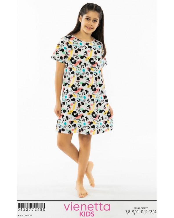 Дитяча сорочка для дівчат Vienetta Panda