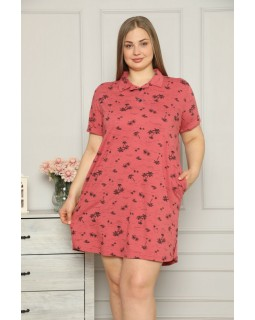 Жіноча сорочка великого розміру Nicoletta