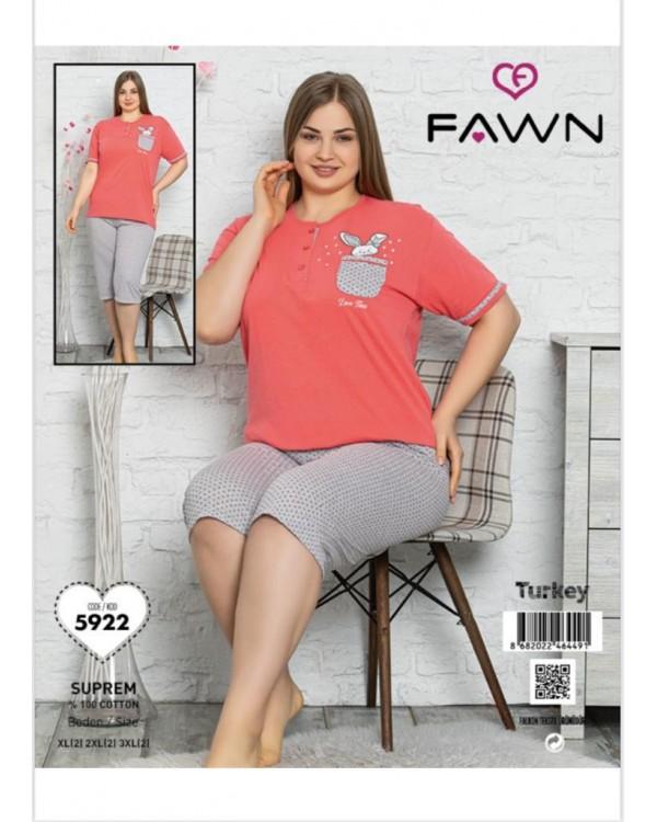 Піжама з капрями  Fawn 5922