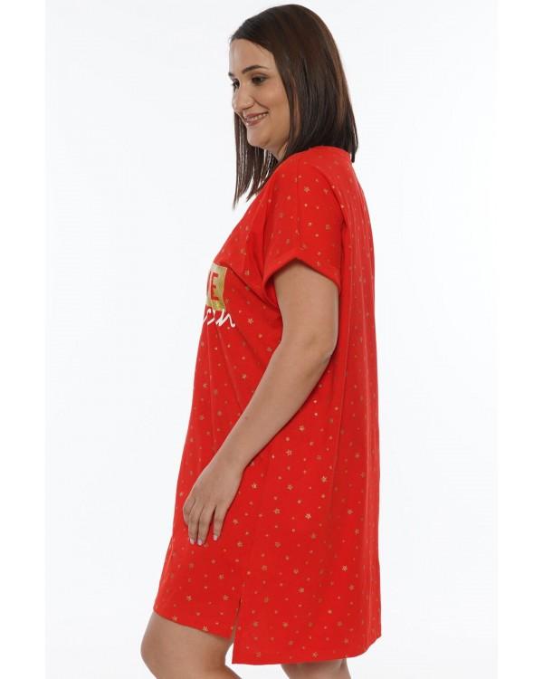 Жіноча нічна сорочка Vienetta великого розміру