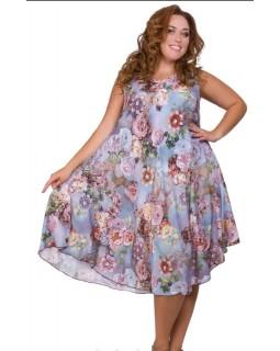 Літнє плаття штапель 2231