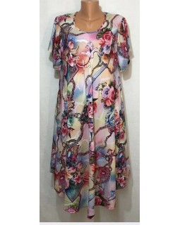Літнє плаття штапель 2236