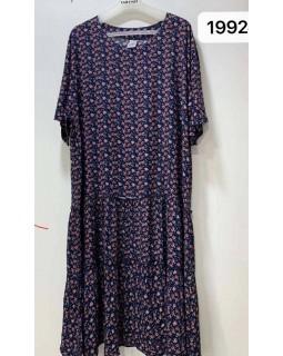 Літнє плаття штапель 1992
