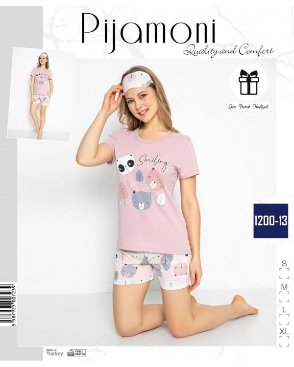 Жіноча піжама з шортами Pijamoni 1200-13