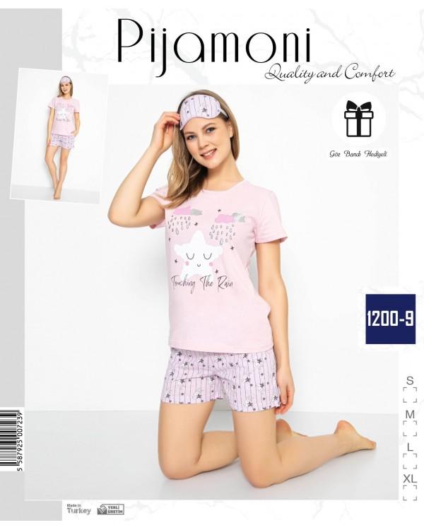 Жіноча піжама з шортами Pijamoni 1200-9