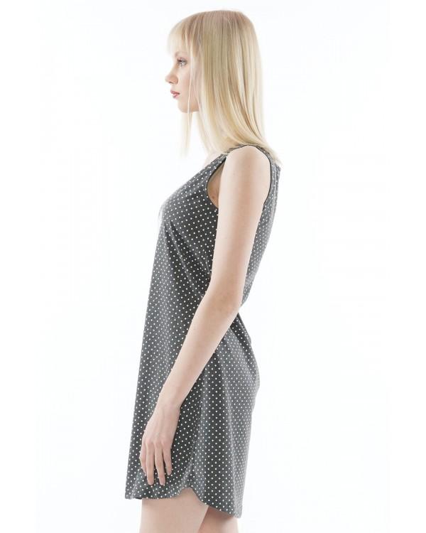 Молодіжна нічна сорочка Vienetta Sunny Days Dark Gray