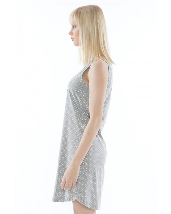 Молодіжна нічна сорочка Vienetta Sunny Days Gray