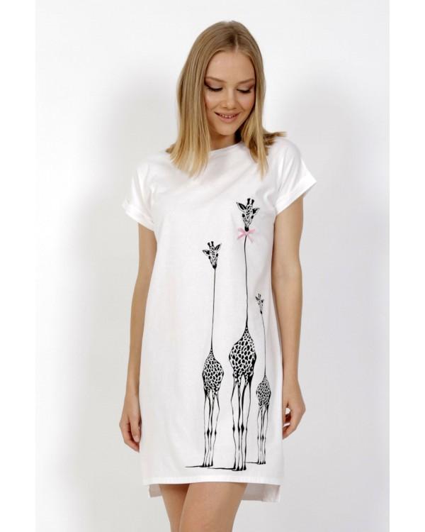 Молодіжна нічна сорочка Vienetta Giraffe