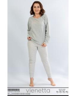Батальна ангорова піжама зі штанами Vienetta