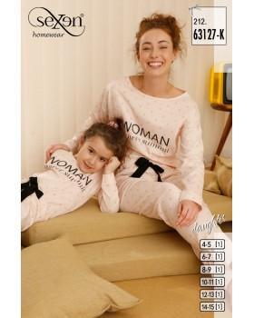 Піжама для дівчат Sexen 63127-K
