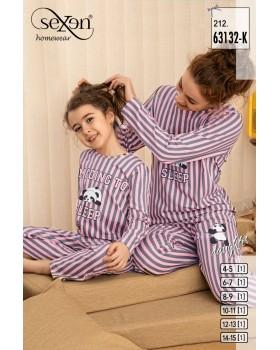 Піжама для дівчат Sexen 63132-K