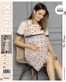 Сорочка для вагітних Fenix 5035