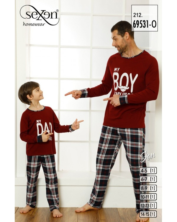 Піжама для хлопчиків Sexen 69531-O