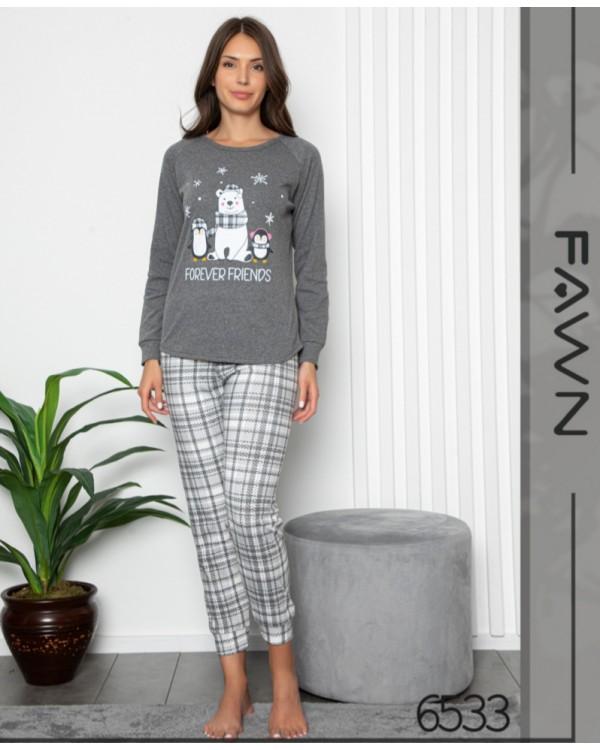 Молодіжна піжама FAWN 6533